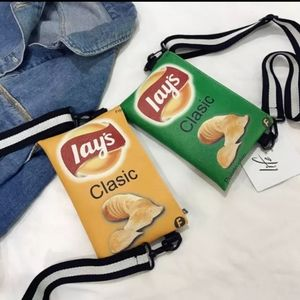 Novelty Crossbody Bag, Lays Classic